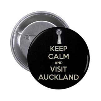 keep calm visit auckland button