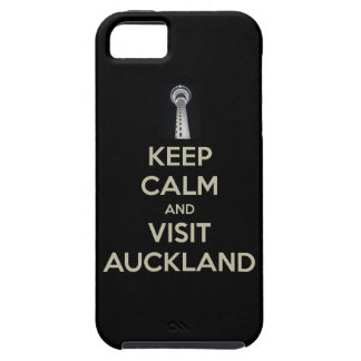 keep calm visit auckland iPhone SE/5/5s case