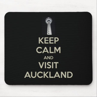 keep calm visit auckland mouse pad