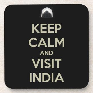 keep calm visit india coaster