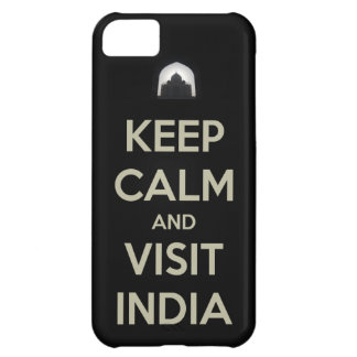keep calm visit india iPhone 5C cases