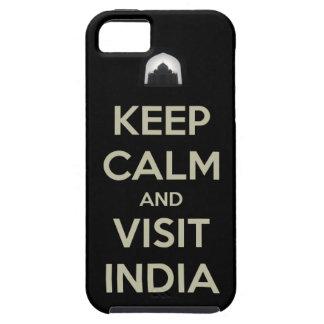 keep calm visit india iPhone SE/5/5s case