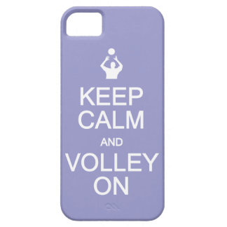 Keep Calm Volley On custom color iPhone case iPhone 5 Case