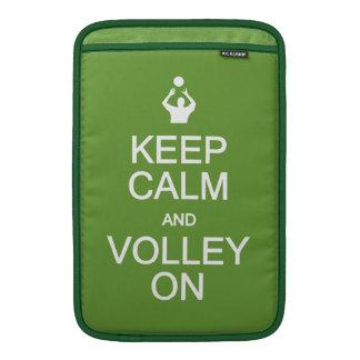 Keep Calm & Volley On custom sleeves