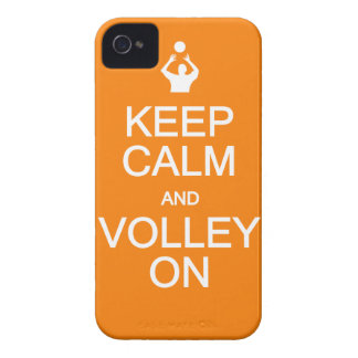 Keep Calm Volley On iPhone 4 Case-Mate