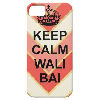 Keep calm wali Bai chevron iphone 5/5s case