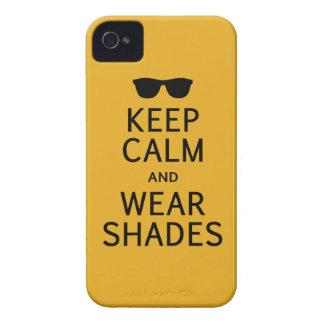 Keep Calm & Wear Shades iPhone 4 case-mate