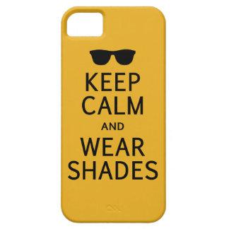 Keep Calm & Wear Shades iPhone 5 case-mate