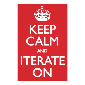 Keep calm wild duck iterate on stationery