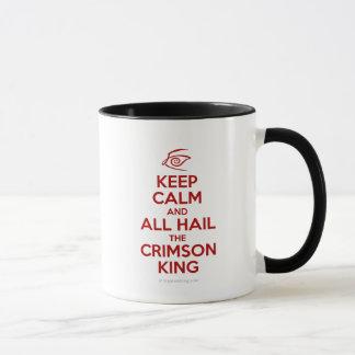 Keep Calm with the Crimson King Mug