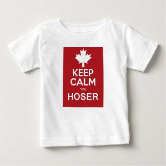Keep Calm You Hoser T-shirts