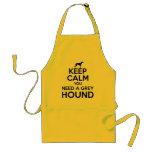 Keep Calm you Need a Greyhound Apron