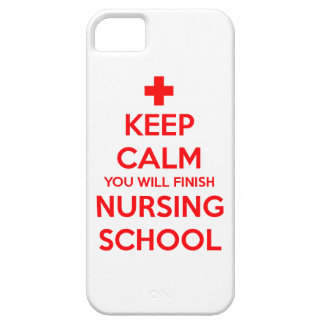 Keep Calm You Will Finish Nursing School iPhone SE/5/5s Case