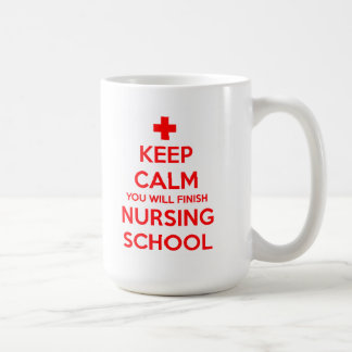 Keep Calm You Will Finish Nursing School Mug