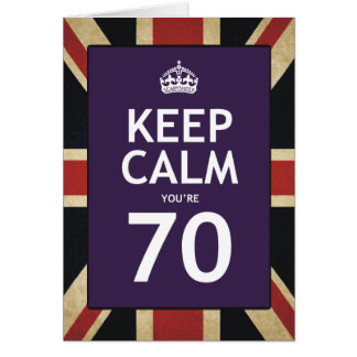 Turning 70 Years Old Greeting Cards Zazzle