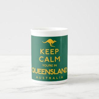 Keep Calm You're in Queensland! Tea Cup