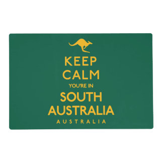 Keep Calm You're in South Australia! Placemat