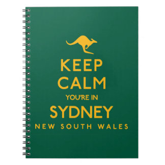 Keep Calm You're in Sydney! Notebook