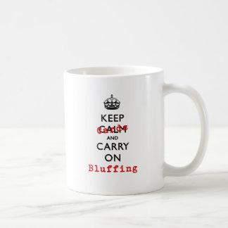 KEEP CARDS COFFEE MUG