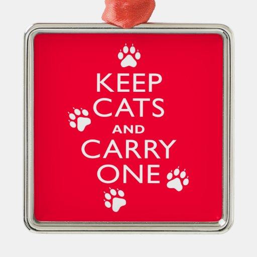 Keep Cats Ornament