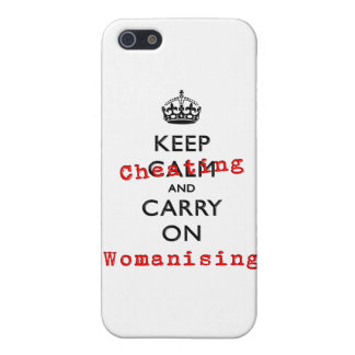KEEP CHEATING iPhone 5 CASE
