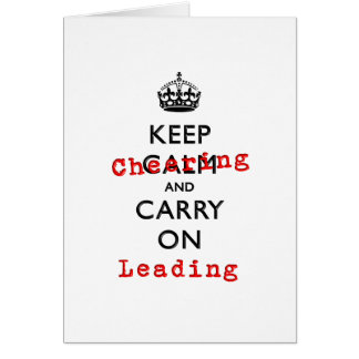 KEEP CHEERING CARD