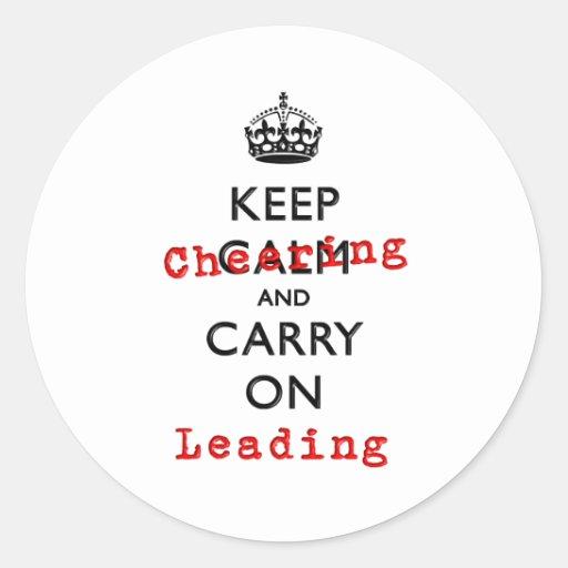 KEEP CHEERING STICKERS