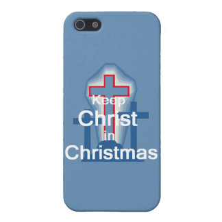 Keep Christ Case For iPhone SE/5/5s