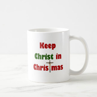 Keep Christ in Christmas Coffee Mugs