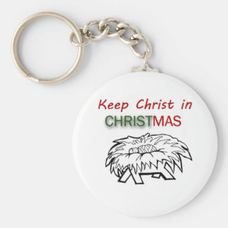 Keep Christ in Christmas Keychain