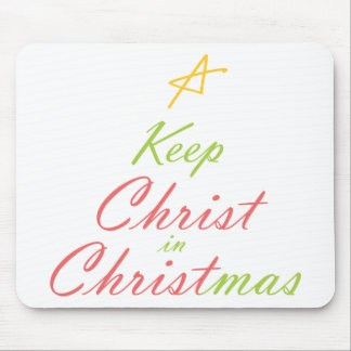 Keep Christ in Christmas Mouse Pad