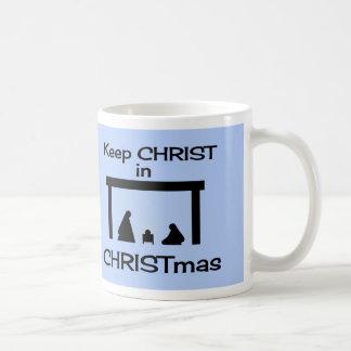 Keep CHRIST in CHRISTmas Mug / Cup
