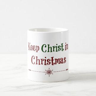 Keep Christ in Christmas Mugs