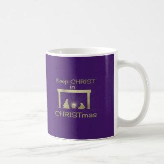 Keep Christ In Christmas Mugs/ Cups