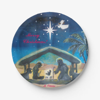 Keep Christ In Christmas Paper Plates