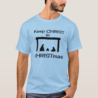 Keep CHRIST In CHRISTmas Shirts and Clothing