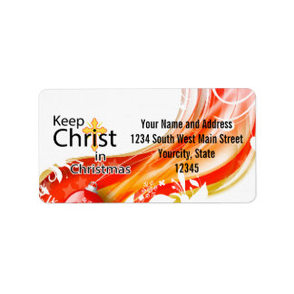 Keep Christ in Christmas, Swirl Labels