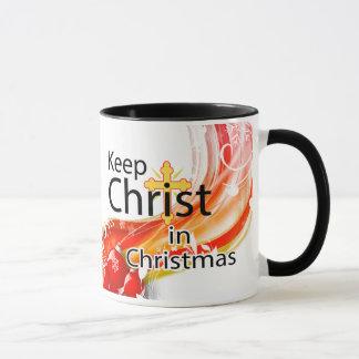 Keep Christ in Christmas, Swirl Mug