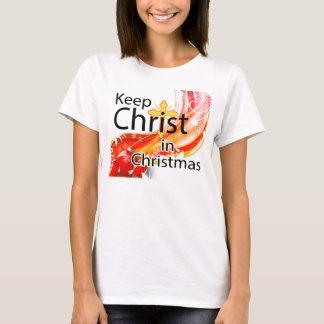 Keep Christ in Christmas, Swirl T-Shirt