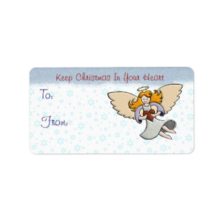 Keep Christmas In Your Heart Label