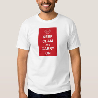 KEEP CLAM AND CARRY ON DRESSES