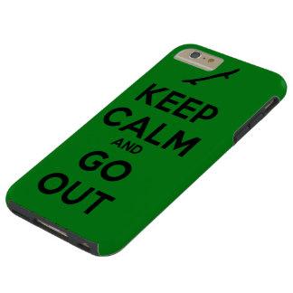 Keep clam tough iPhone 6 plus case