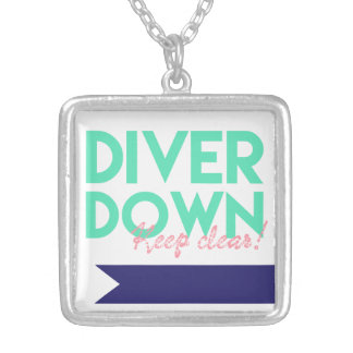 Keep Clear, Diver Down Necklace