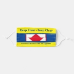 Keep Clear I'm Disabled at High Risk Adult Cloth Face Mask