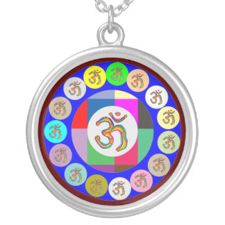 Keep close to Heart - OmMantra Dedication Round Pendant Necklace