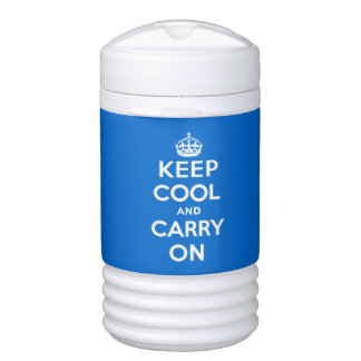 Keep Cool and Carry On Beverage Cooler