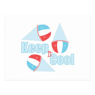 Keep Cool Postcard