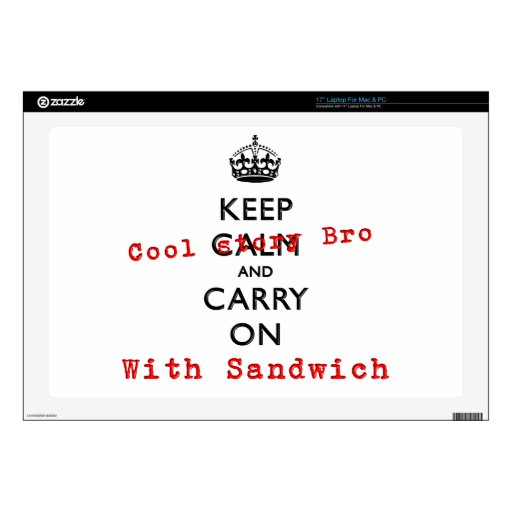 KEEP COOL STORY BRO SKINS FOR LAPTOPS