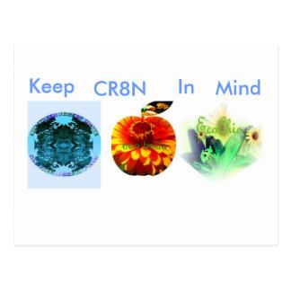 Keep CR8N In Mind Postcard
