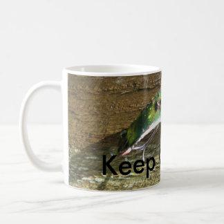 Keep Crankin' Old Fishing Lure Coffee Mug